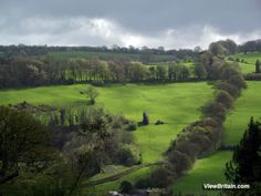 View from Chirk Castle grounds of the magnificent Welsh Landscape, visit View Britain image gallery for free downloads of high resolution images of Chirk Castle, Gardens and Parklands at www.viewbritain.com/image-gallery/wales