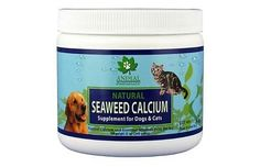 Seaweed Calcium Supplement for Dog and Cat Natural Diet 12 oz