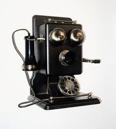 Other Telefono Arredo In Ferro Vintage Antico Epoca Old Francia Paris Telephone
