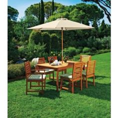 Buy Madison 6 Seater Dressed Patio Furniture Set at Argos.co.uk - Your Online Shop for Garden table and chair sets.