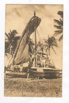 Samoan War Canoe, Samoa
