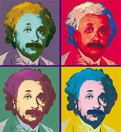 Albert Einstein - Classic Warhol