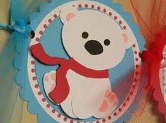 polar bear and penguin first birthday party - Google Search