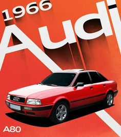 The #Audi A80. One iconic reason why the word sedan resonates with Audi. #ProgressIsIntense