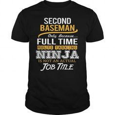 Awesom Tee For Second Baseman T Shirts, Hoodies. Get it here ==► https://www.sunfrog.com/LifeStyle/Awesom-Tee-For-Second-Baseman-Black-Guys.html?41382