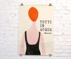 La Rinascente, Tutti In Acqua – Lora Lamm, 1955