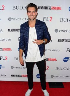 "James Maslow attends Men's Fitness Magazine Hosts Annual ""Game Changers"" celebration. 9/24/15"