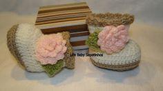 Sapatinhos Para Bebê - Life Baby: Passo a passo bota em Crochê