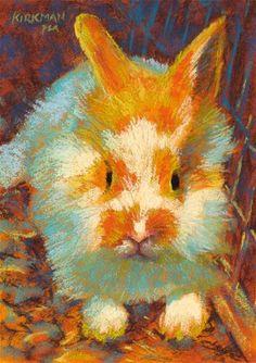 """""""Butter Fluff"""" - Original Fine Art for Sale - � Rita Kirkman"""
