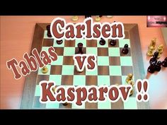 Kasparov vs Carlsen 3 - YouTube