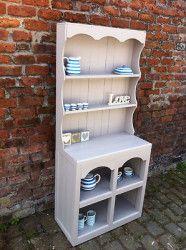 Lovely farmhouse welsh dresser **shabby chic**