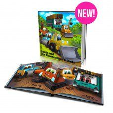 """Personalized Story Book: """"Construction Friends"""""""