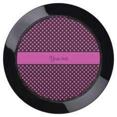 Pink Polka Dots USB Charging Station