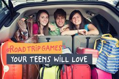 Alamo Travel Tips - Road Trip Games Your Teens Will Love - A road trip with your teens can be enjoyable with these road trip games. Find out how to make your vacation planning easier and book your car rental with Alamo Rent A Car.