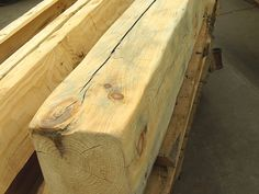 How to distress & stain wood beams