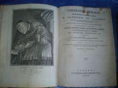 THEOLOGIA MORALIS ALPHONSI DE LIGORIO 1816