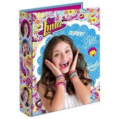 Carpeta A4 anillas Soy Luna Disney