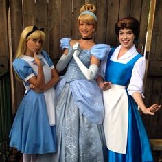 Alice Cinderella and Belle Cinderella Cosplay, Alice Cosplay, Belle Cosplay, Disney Cosplay, Belle Costume, Disney Costumes, Disney Girls, Disney Love, Disney Magic
