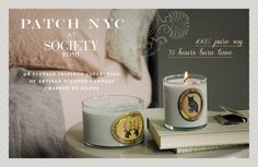 PATCH NYC candles @ Society store in Rome