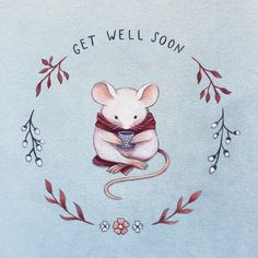 cute mouse by Nina Stajner