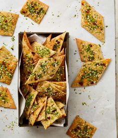 From chilli oil to tahini thins: Yotam Ottolenghi's recipes for edible Christmas gifts | Food | The Guardian Ottolenghi Recipes, Yotam Ottolenghi, Edible Christmas Gifts, Edible Gifts, Christmas Crafts, Xmas, Homemade Sweets, Plant Based Nutrition, Small Meals