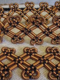 Bronze Spiral Belt Estonian Ancient by BronzeSpiralJewelry Viking Jewelry, Ancient Jewelry, Copper Jewelry, Viking Life, Viking Art, Vikings, Viking Embroidery, Spiral Pattern, Iron Age