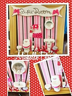 Placa decorativa para Banheiro
