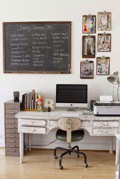 EL JARDIN DE LOS MUFFINS: Blog de Interiorismo y Decoración Vintage.: Un Atelier de Ropa Vintage decorado con mucho Mimo