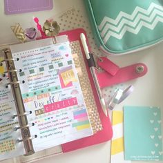 Color Crush Planner Love Week 8 Planner Decoration Chelley Darling