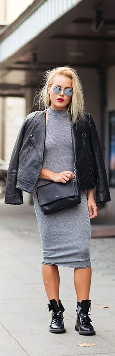 Grey Day / Fashion By Angelica Blick