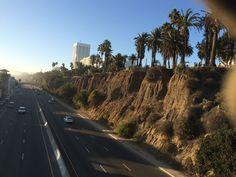 Cliffs on Santa Monica