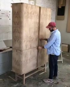 Space Saving Furniture, Small Furniture, Wood Furniture, Furniture Design, Woodworking Techniques, Woodworking Crafts, Woodworking Shop, Small Wooden Projects, Wood Projects