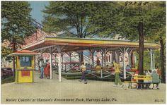Roller Coaster at Hanson's Amusement Park, Harveys Lake, Pa. | Flickr - Photo Sharing!