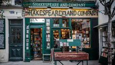 Articles and more.... Storie, racconti, recensioni ... : Let's Help Shakespeare And Company! Shakespeare And Company Paris, The Last Bookstore, Robot Restaurant, Bomb Shelter, National Treasure, Paris Travel, Book Lovers, Coffee Shop, Around The Worlds