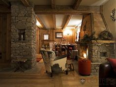 Another view of the lounge at Villa Neve 2 - Courmayeur