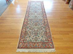 Indian Oriental Rug, 1 x 3 Cream Jaipur Runner Indian Rugs, Jaipur, Rug Making, Oriental Rug, Cream, Home Decor, Creme Caramel, Decoration Home, Room Decor