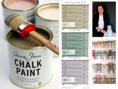 pinturas a la tiza Chalky Paint, Chalk Paint Colors, Furniture Makeover, Furniture Decor, Ikea Malm, Chalk Paint Furniture, Chalkboard Paint, Decoration, Interior And Exterior