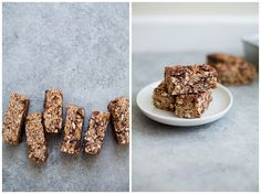 Maca + Dark Chocolate Granola Bars (Vegan, Gluten-Free, Refined Sugar-Free) by The Green Life
