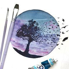 Watercolorist: @izabell_art #waterblog #акварель #aquarelle #painting #drawing #art #artist #artwork #painting #illustration #watercolor #aquarela