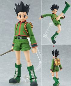 Figma 181 Gon Freecss Hunter X Hunter Anime Action Figure Max Factory Japan