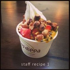 Photo of Skinny Dippa Yogurtologists - Windsor Victoria, Australia. Delicious and 100% sugar free