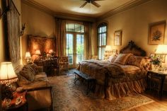 'Old World' No words for how much I love this. Elegant yet cozy, warm and inviting.