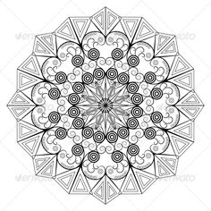 Round Ornamental Element  #GraphicRiver         Vector round ornamental pattern. Element for design. Main files include EPS 10 and high resolution JPG.     Created: 5March13 GraphicsFilesIncluded: JPGImage #VectorEPS Layered: No MinimumAdobeCSVersion: CS Tags: abstract #antique #arab #arabic #black #circle #decor #decoration #design #eastern #element #geometry #gothic #graphic #medieval #object #ornamental