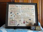 The Robin R. Bailey Sampler - In Loving Memory of my Sister, Robin. Cross Stitch Samplers, Cross Stitch Patterns, Falling Stars, Dmc Floss, Robin, Needlework, My Design, Etsy Seller, Primitives