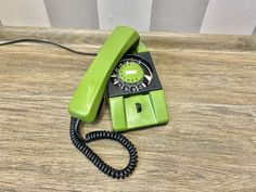 Vintage green phone 80s, Old rotary phone, Soviet phone, Circle dial rotary phone, Vintage landline phone, Old Dial Desk Phone, Wall phone Vintage Green, Rotary, Telephone, Landline Phone, Retro Phone, Vintage Phones, Electronic Items, Best Phone, Red Gold
