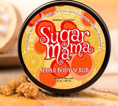 Sugar Mama-sweeten up w sugary, buttery salted Carmel fragrance while scrubbing away layers to reveal tighter and healthier skin that leaves you glowing and feeling Oh-So -Sweet!!