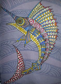 Painted By Me From Art Therapy An Anti Stress Colouring Book Designer Gouache Water