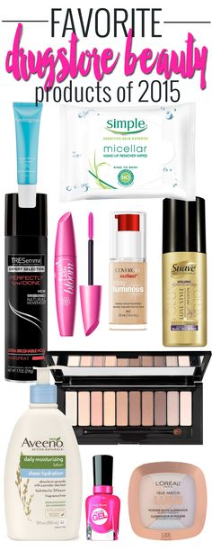 Favorite Drugstore Beauty Products of 2015