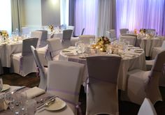 Mauve wedding reception. Styled by Greenstone Events.