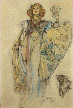 Judith, by Alphonse Mucha